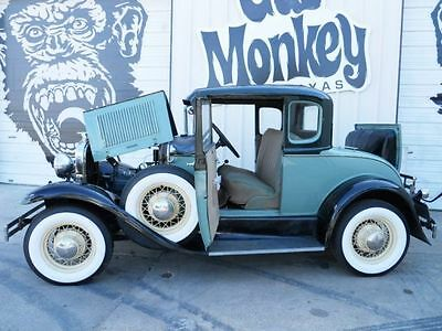 1931 Ford Model A Coupe Hot Rod American Stock From Gas Monkey