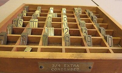 3/4 Extra Condensed Engraving Letter & Number For Gorton /deckel Pantograph