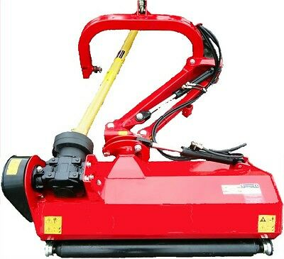 "48"" 3pt Ditch Bank Flail Mower Cat.I 25hp~65hp (FH-AGL125) w/hammer blades"