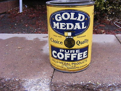 Old Gold Medal Choice Quality Pure Coffee Toronto Canada Gold Medal Coffee Nr
