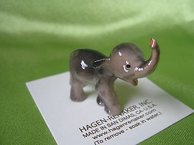 Hagen Renaker Small Elephant 017 Figurine Miniature FREE SHIPPING NEW