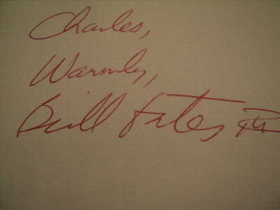 SIGNED BILL GATES Overdrive James Wallace 1st/1st Fine