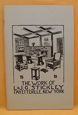 The Works of L & J G Stickley Fayetteville, New York Re-Print w/1910 Prices