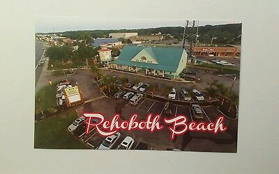 Modern Aerial View - The Sea Shell Shop -  Rehoboth Beach, Delaware