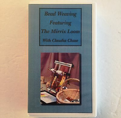 Bead Weaving With Claudia Chase VHS The Mirrix Loom VHS Jewelry Craft