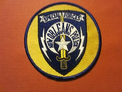 Collectible Louisiana Police Patch New Orleans Special Forces New
