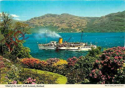 Postcard: Loch Lomond, 'Maid Of The Loch'
