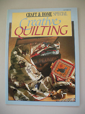 Creative Quilting - Craft & Home Special - Quilting Pattern Book