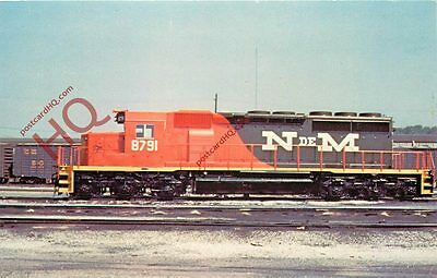 Postcard: NATIONAL RAILWAYS OF MEXICO UNIT NUMBER 8791