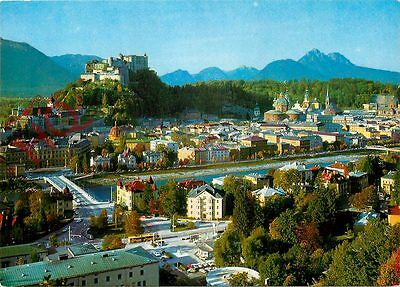 Postcard: Salzburg, The Fortress Of Hohen-Salzburg And Nonnberg-Convent