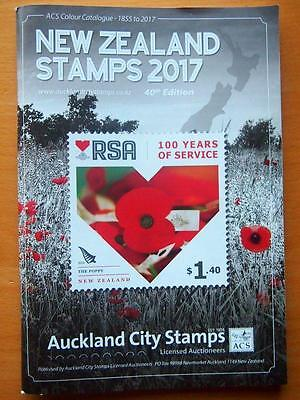 2017 New Zealand Stamps Catalogue - 40Th Edition - Soft Cover 1855-2016