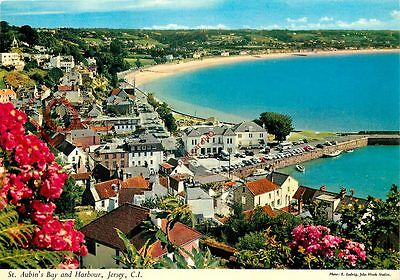 Postcard: Jersey, St. Aubin's Bay And Harbour