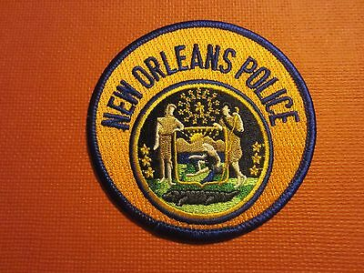 Collectible Louisiana Police Patch New Orleans New