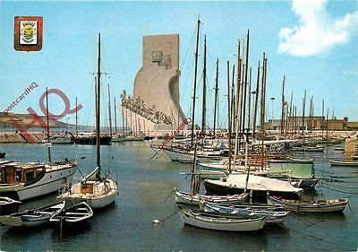 Postcard: Lisbon, Lisboa, Monument To The Discovery In Belem's Dock