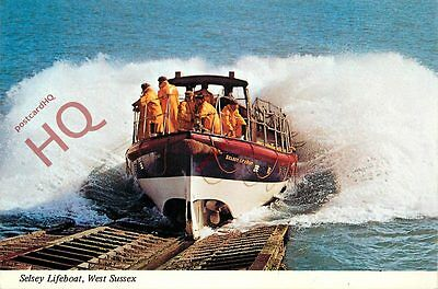 Postcard: SELSEY LIFEBOAT, WEST SUSSEX