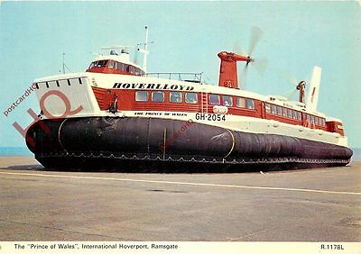 Postcard: HOVERCRAFT, HOVERLLOYD, THE PRINCE OF WALES GH-2054