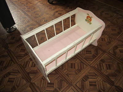 Doll Cradle wooden