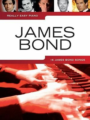 James Bond, piano