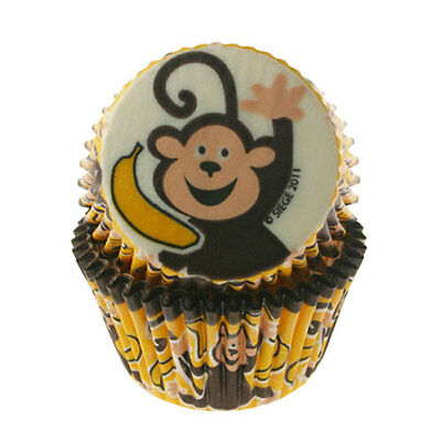 Monkey Business Baking Cups Pk/32 Cupcake Creations
