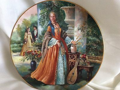 BNIB Royal doulton plate collectors gallery edition JANE SEYMOUR PN 97
