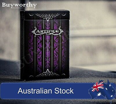 ARTIFICE Purple Ellusionist Premium Playing Card Deck Brand New & Sealed