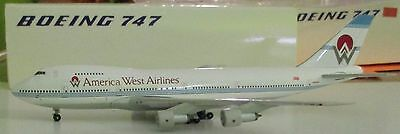 400 Craftsman - Aeroclassics  1:400   America West Airlines 747 #N534AW