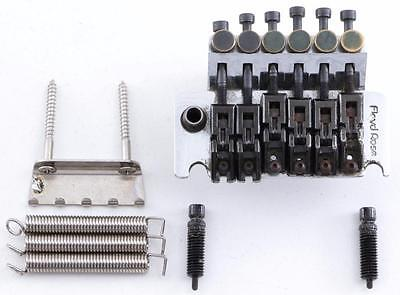 Floyd Rose Original Made in Germany Tremolo Chrome/Black Saddles Finish BR-4172