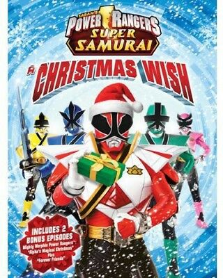 Power Rangers Super Samurai a Christmas Wish [New DVD] Dolby, Widescreen