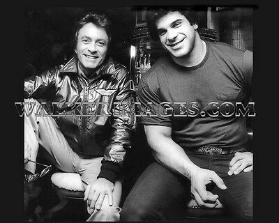 21 The Incredible Hulk Tv Series Lou Ferrigno Bill Bixby Photo Print