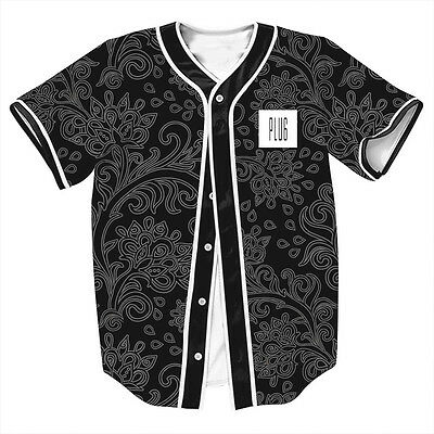 Im the Plug Paisley Fashion Mens Baseball Tee Varity Jersey Sport Raglan T-Shirt