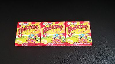 Horlicks Malties Candy Chocolate Flavor 3boxes 81 tablets