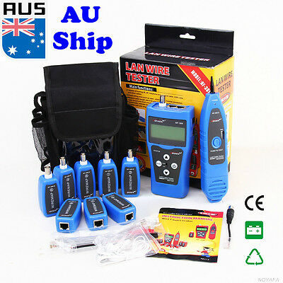 AU Ship NF388 Network Ethernet LAN Phone Tester wire Tracker USB Cable Jacks