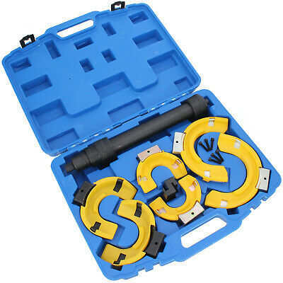Macpherson Strut Coil Spring Compressor Dumper Extractor With spring protectors