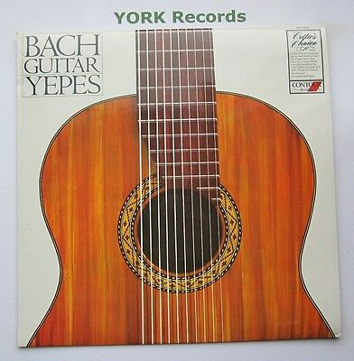 CC 7515 - BACH GUITAR - NARCISO YEPES - Excellent Condition LP Record
