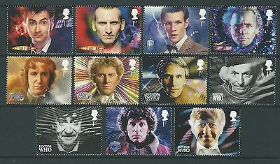 Great Britain 2013 Doctor Who Set Of 11 Unmounted Mint, Mnh