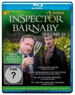 Inspector Barnaby - Vol 26 - 2 Blu Ray Box