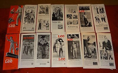 44 LEE jeans pants vintage ad ads riders westerners misc #5