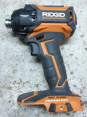 Ridgid Aeg 18V Brushless Stealth Force Impact Pulse Driver  Gen5X Tool Only.