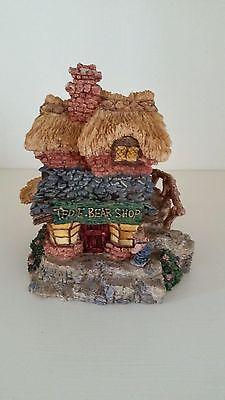 ~BOYDS~ Bearly Built Villages ~#1~TED E BEAR SHOP~STYLE# 19001~6E/557~