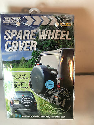 New MAYPOLE MP94429 29-inch 735mm  4x4 Medium Spare Wheel Cover