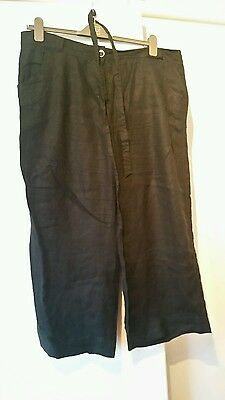 plus size trousers size 18 long flared black summer