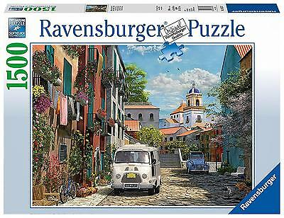 Ravensburger Idyllic South Of France 1500pc Jigsaw Puzzle NEW