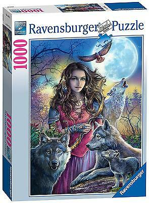 Ravensburger Protector Of Wolves 1000pc Jigsaw Puzzle NEW