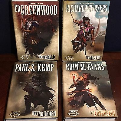 Dungeons & Dragons Forgotten Realms The Sundering Book Series Lot of 4 Hardcover