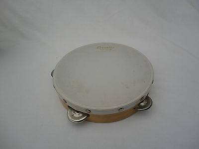 Premier Everplay Tambourine Made In England Musical Instrument Percussion