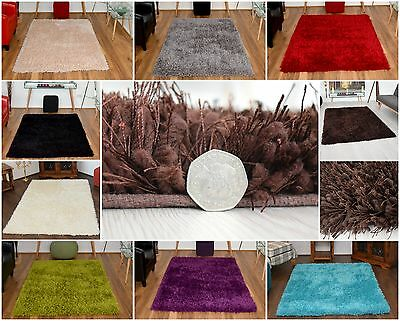 Small X Large Luxury Shaggy Area Rug Soft Carpet 5cm Thick Pile Rugs Modern Mats