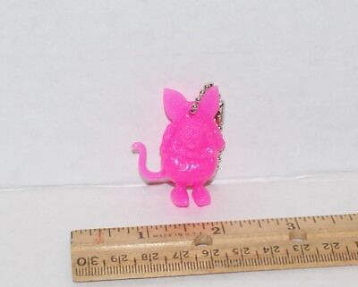 "Great Little Ed Roth ""rat Fink"" Figure Key Chain In Pink!!!"