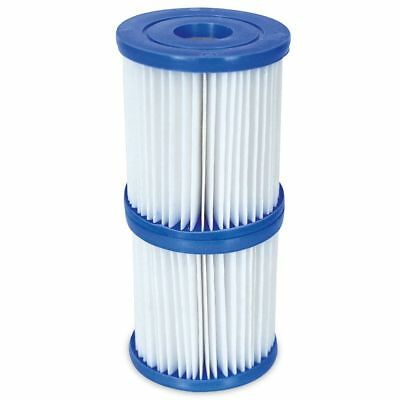 Bestway - 2 Filter Cartridges Size 1 - For 300/330 gal/hr Swimming Pool Pumps