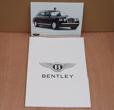 Bentley Badge State Limousine Press Release Pack, Rare, Very Collectable