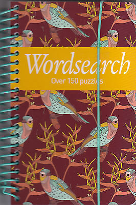 Wordsearch Book, Over 150 Puzzles, Pocket sized Gift Book, NEW